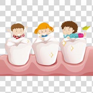 Tooth Child Teeth Cleaning Deciduous Teeth - Teeth Play PNG