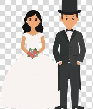 Wedding Invitation Marriage Bridegroom Illustration - Wedding Illustrator Design PNG