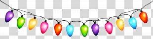 Clip Art - Christmas Bulbs Transparent Clip Art PNG