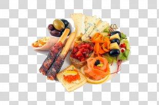 Hors D'oeuvre Vegetarian Cuisine Menu Canapé Full Breakfast - Menu PNG
