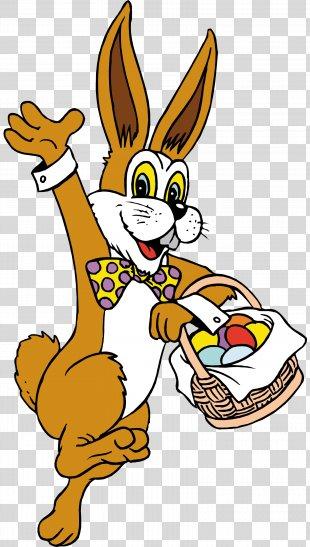 Easter Bunny Easter Egg Egg Hunt Easter Basket - Easter PNG