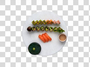 Sushi Sashimi California Roll Makizushi Take-out - Sushi PNG