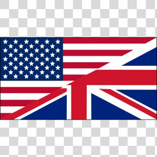 Flag Of The United States Flag Of The United Kingdom Clip Art - Free Us Flag Images PNG