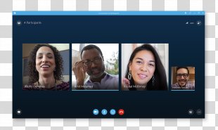 Skype For Business Server Conference Call Web Conferencing - Skype PNG