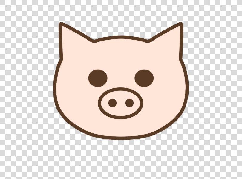 Whiskers Cat Pig Snout Clip Art, Cat PNG