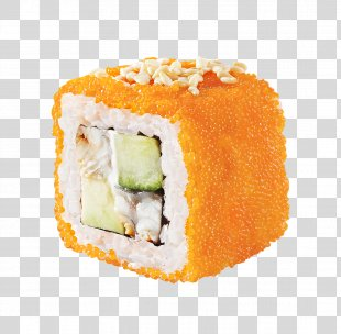 California Roll Sushi Makizushi Japanese Cuisine Unagi - Sushi PNG