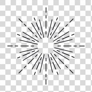 Starburst Clip Art - Abstract Lines PNG