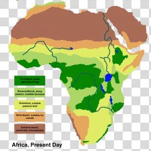 Africa Savanna Map Grassland Geography - Africa PNG