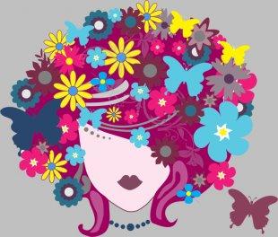Clip Art Floral Design Vector Graphics Openclipart Flower - Regenerate Silhouette PNG
