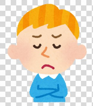 Facial Expression Person White People Face - Thinking Boy PNG