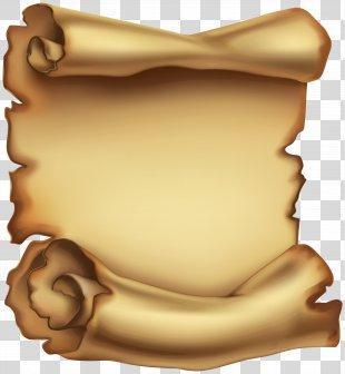 Paper Clip Art - Old Scrolled Paper Clip Art Image PNG