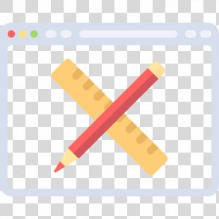 Web Browser Pen - A Pen And A Ruler PNG