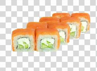 Sushi Pizza Makizushi Japanese Cuisine California Roll - Sushi PNG