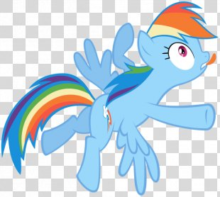 Rainbow Dash Flying Sprite Animated Film - Rainbow PNG