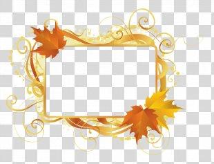 Autumn Leaves Festival Clip Art Illustration Image - Autumn Leaves PNG