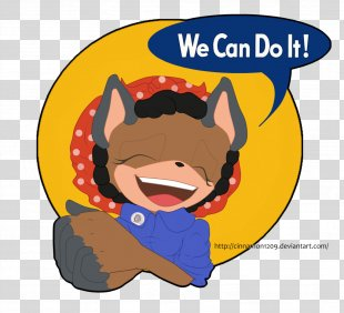 We Can Do It! Nyan Cat Rosie The Riveter Meow - We Can Do It PNG