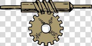 Gear Worm Drive Clip Art - Gear PNG