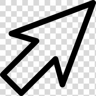 Computer Mouse Pointer Icon - Mouse Cursor PNG