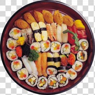 Sushi Makizushi Japanese Cuisine Pizza California Roll - Sushi Image PNG