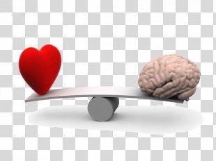 Heart Mind Human Brain Emotion - Human Heart PNG