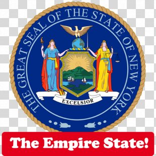 New York City Seal Of New York Coat Of Arms Of New York State Flag - New York State Route 155 PNG