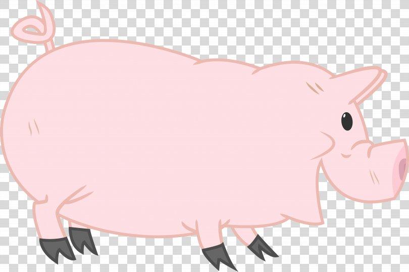 Domestic Pig Pony Clip Art, Pig PNG