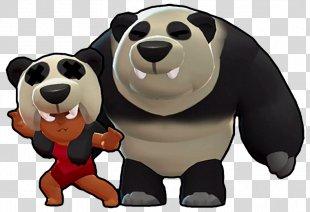 Brawl Stars Giant Panda Bear Dog Breed Wiki - Brawl Stars PNG