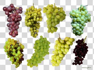 Fruit Grape Three-dimensional Space - Grapes PNG