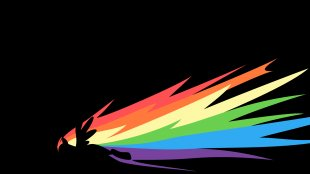 Rainbow Dash Pinkie Pie Desktop Wallpaper Flame - Rainbow PNG