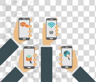 Responsive Web Design Mobile App Development Application Software - Four Kinds Of Mobile Application Software PNG