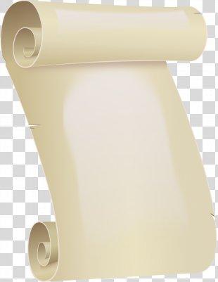 Paper Scroll Template Clip Art - Scroll PNG
