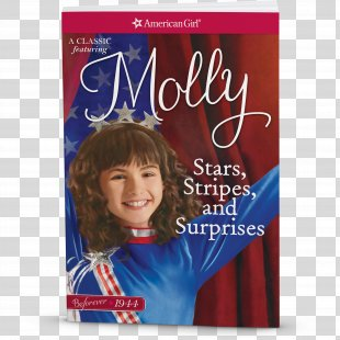 Valerie Tripp Stars, Stripes, And Surprises: A Molly Classic 2 Chances And Changes: My Journey With Molly Paperback Book - Stars And Stripes PNG