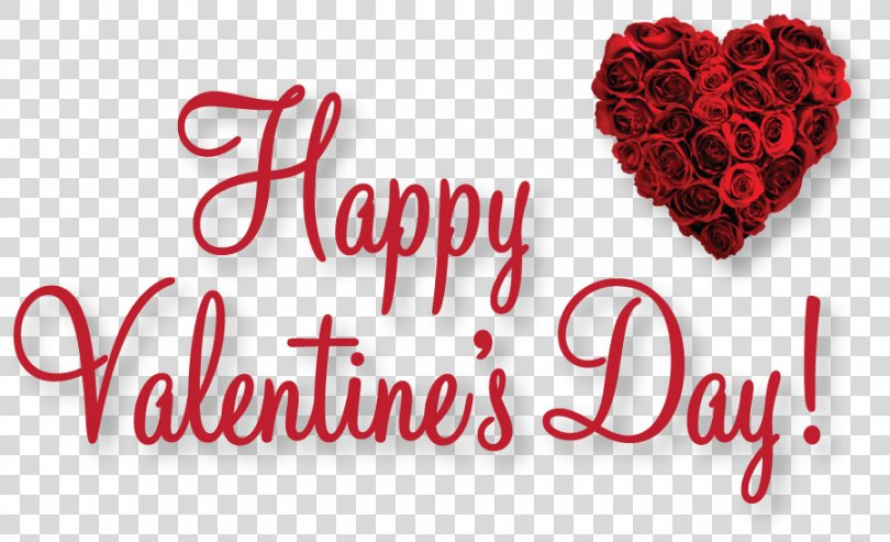 Happy Valentine's Day Text PNG