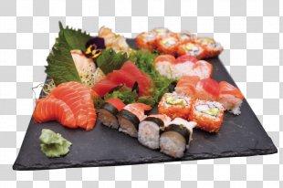 Sashimi Sushi Food Smoked Salmon Japanese Cuisine - Sushi Va Sashimi PNG