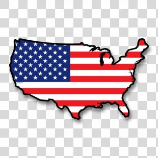 Flag Of The United States Map Flag Of Germany - American Flag PNG