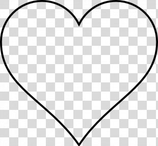 Heart Drawing Outline Clip Art - Human Heart PNG