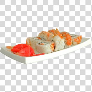 Sushi California Roll Brest Smoked Salmon Japanese Cuisine - Shrimps PNG