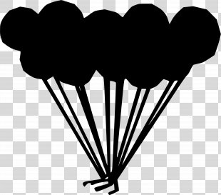 Clip Art Balloon Image Download - Balloon Clip Art Black And White Image PNG