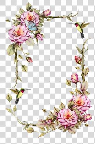 Picture Frames Flower Frame Clip Art Floral Design PNG