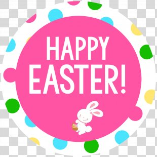 Easter Bunny Flyer Party - Happy Easter PNG