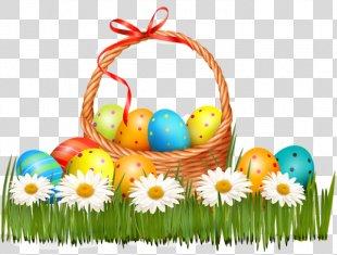 Easter Bunny Easter Egg Easter Basket - Easter PNG