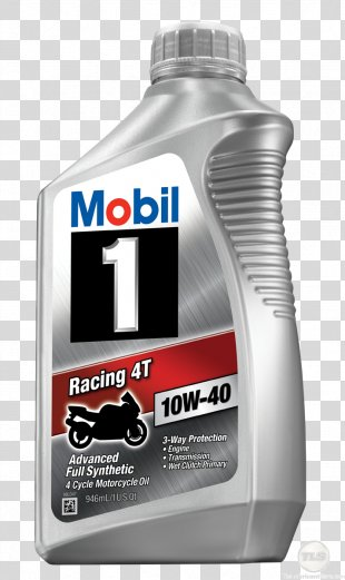 Car Mobil 1 Synthetic Oil Motor Oil ExxonMobil - Motorcycle Oil PNG