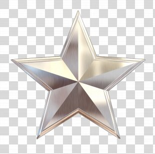 Silver Star Silver Star Metal Clip Art - Silver Star PNG
