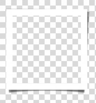 White Black Pattern - Frame Silhouette Frame Cartoon,White Square Of Paper PNG