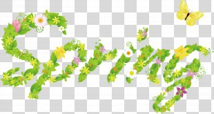Spring Text PNG