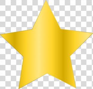 Gold Star Stock.xchng Clip Art - Simple Star Cliparts PNG