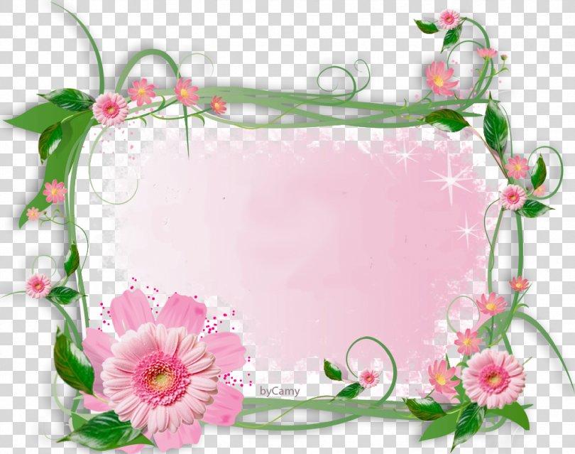 Paper Borders And Frames Picture Frames Flower Clip Art, FLOWER FRAME PNG, Free Download