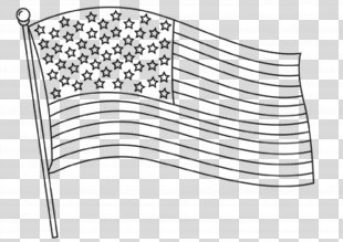Flag Of The United States Coloring Book State Flag - American Flag PNG