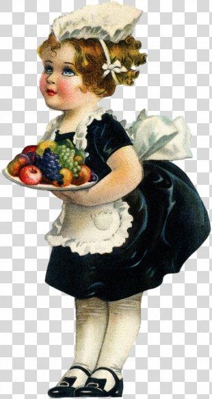 Vintage Clothing Harvest Child Clip Art - Vintage PNG
