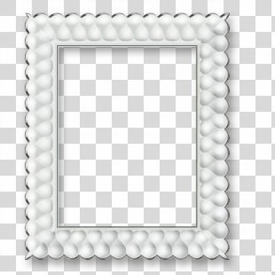 Picture Frame White Digital Photo Frame Photography - White Frame PNG